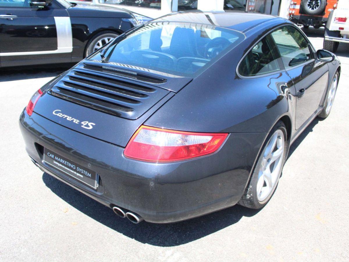 Porsche 911 997 CARRERA 4S 3.8 Noir - 7