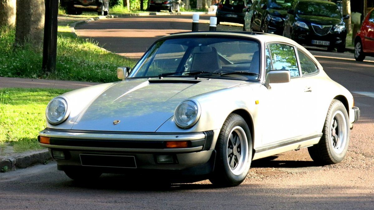 Porsche 911 Carrera 3.2 White gold métallic Occasion - 1