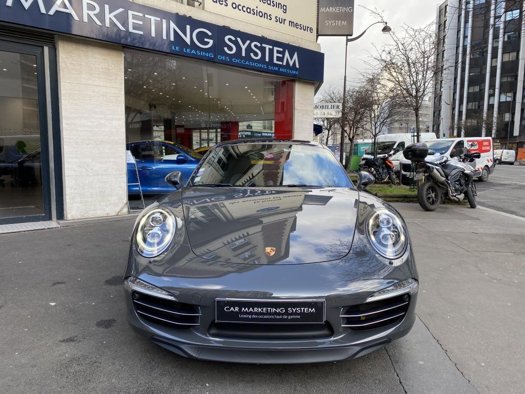 Porsche 911 CARRERA COUPE S 3.8i 400 PDK - 2P 50 ANS Gris Foncé Métallisé - 2