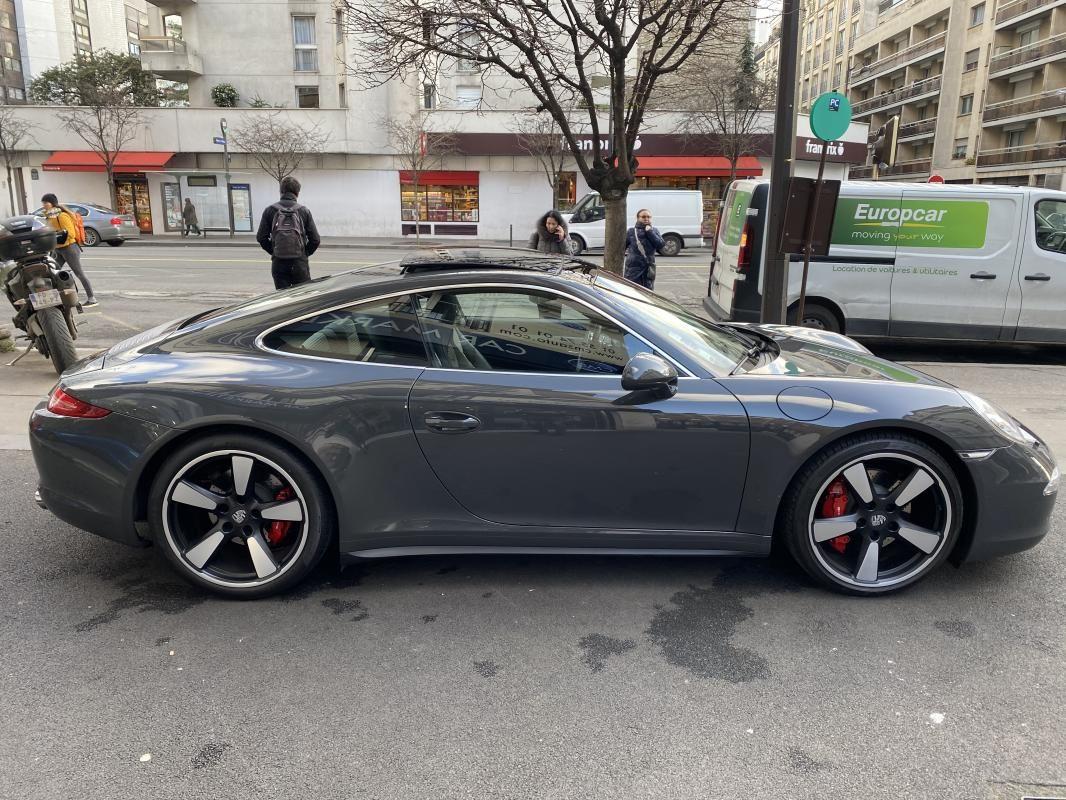 Porsche 911 CARRERA COUPE S 3.8i 400 PDK - 2P 50 ANS Gris Foncé Métallisé - 4