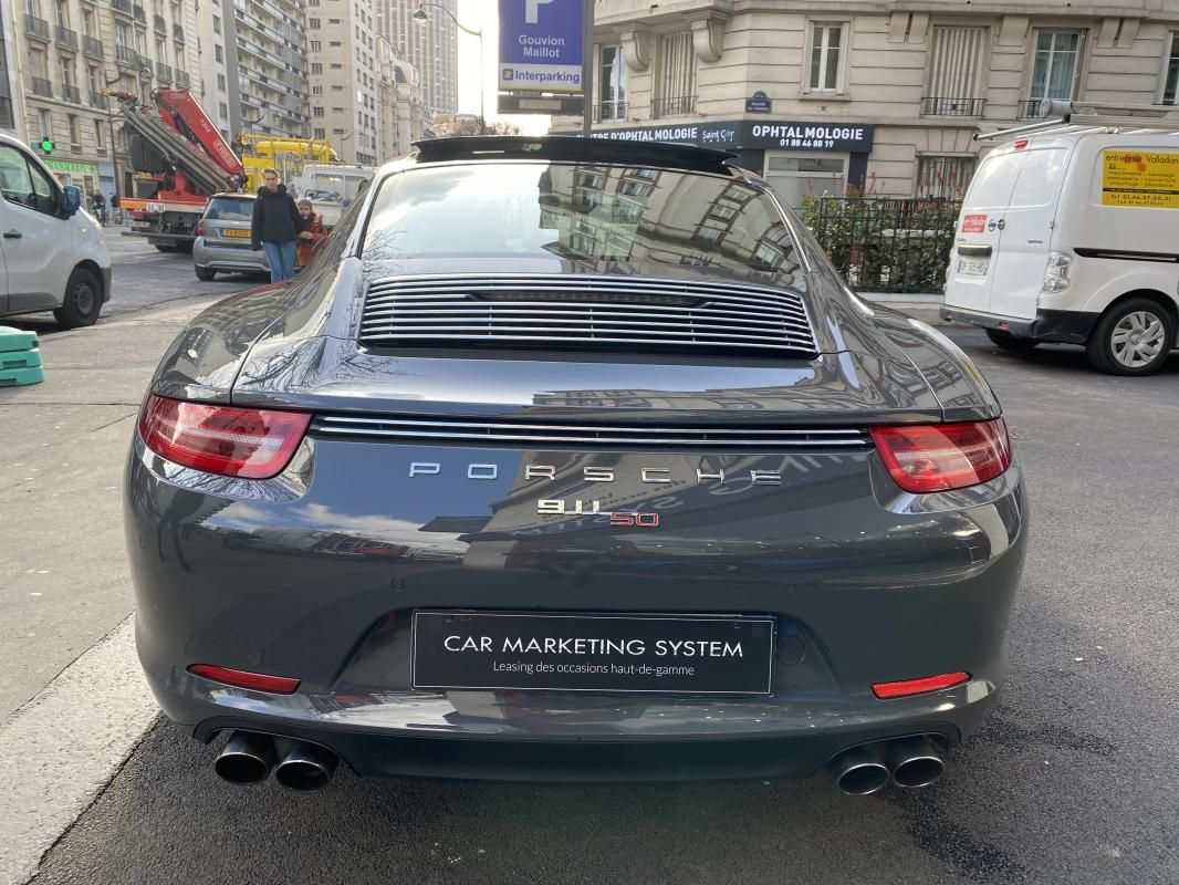 Porsche 911 CARRERA COUPE S 3.8i 400 PDK - 2P 50 ANS Gris Foncé Métallisé - 5