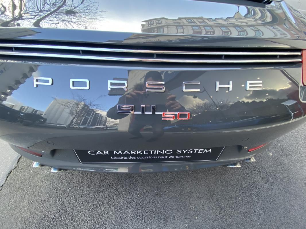 Porsche 911 CARRERA COUPE S 3.8i 400 PDK - 2P 50 ANS Gris Foncé Métallisé - 20