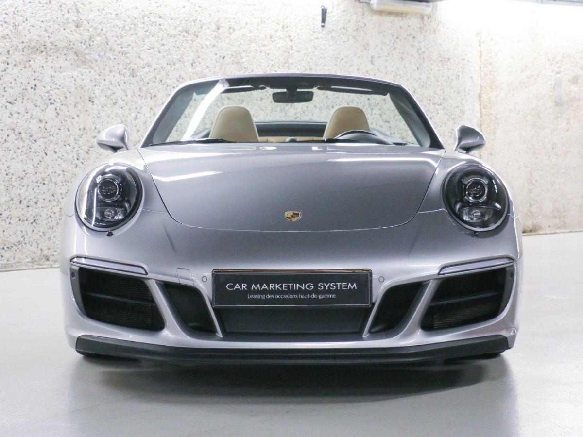 Porsche 911 PORSCHE 911 (991) (2) CABRIOLET 3.0 450 CARRERA GTS PDK Gris Métallisé - 7