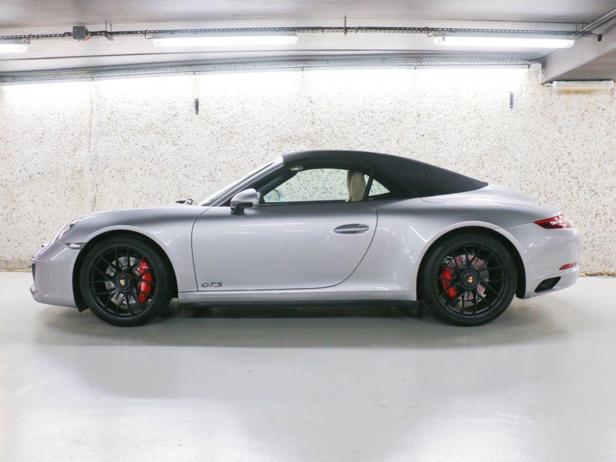 Porsche 911 PORSCHE 911 (991) (2) CABRIOLET 3.0 450 CARRERA GTS PDK Gris Métallisé - 10