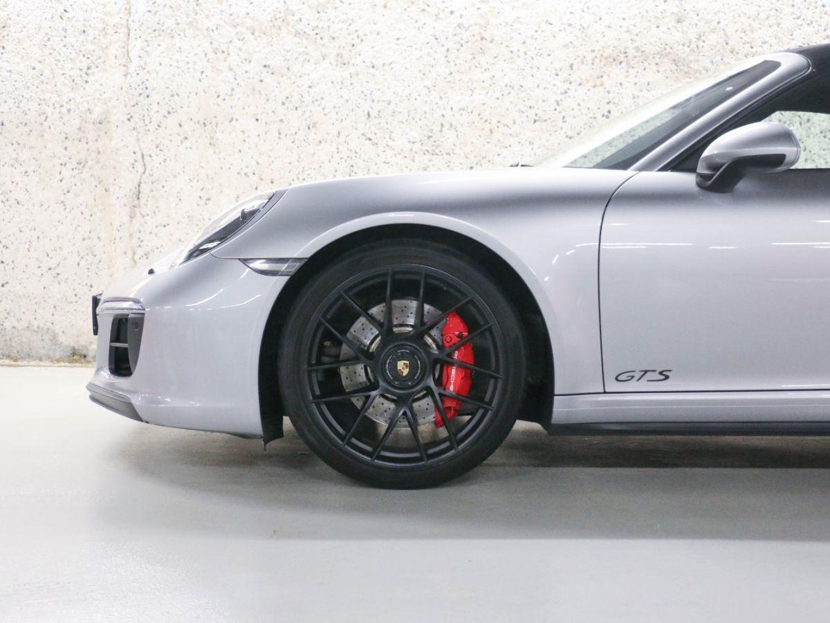 Porsche 911 PORSCHE 911 (991) (2) CABRIOLET 3.0 450 CARRERA GTS PDK Gris Métallisé - 11