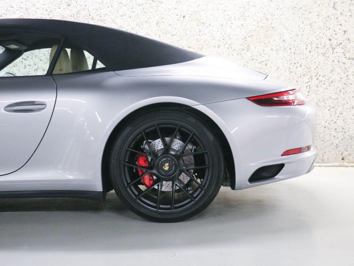 Porsche 911 PORSCHE 911 (991) (2) CABRIOLET 3.0 450 CARRERA GTS PDK Gris Métallisé - 12