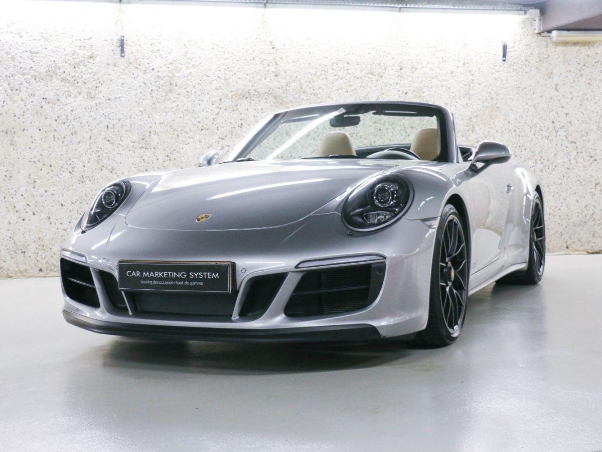 Porsche 911 PORSCHE 911 (991) (2) CABRIOLET 3.0 450 CARRERA GTS PDK Gris Métallisé - 2