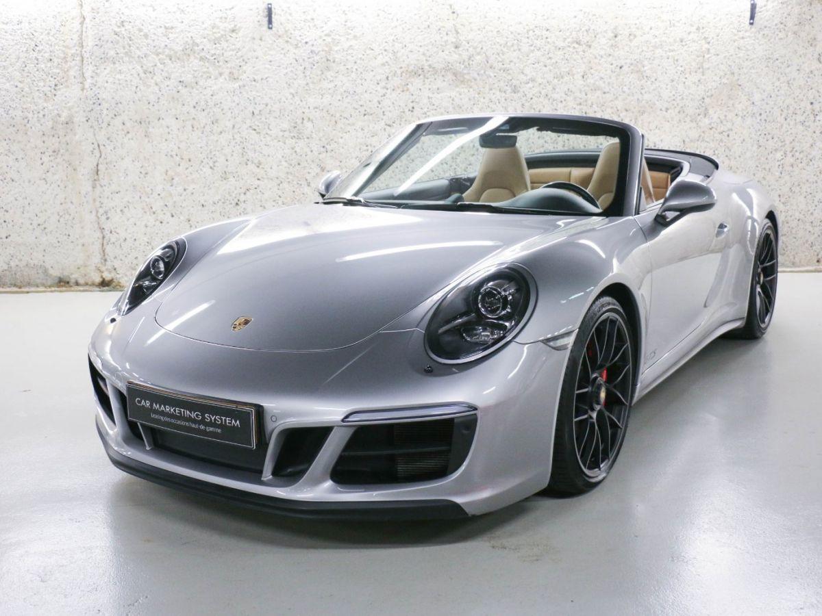 Porsche 911 PORSCHE 911 (991) (2) CABRIOLET 3.0 450 CARRERA GTS PDK Gris Métallisé - 1