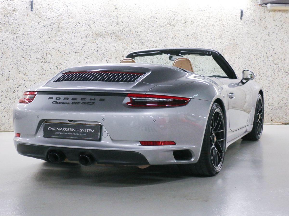 Porsche 911 PORSCHE 911 (991) (2) CABRIOLET 3.0 450 CARRERA GTS PDK Gris Métallisé - 14