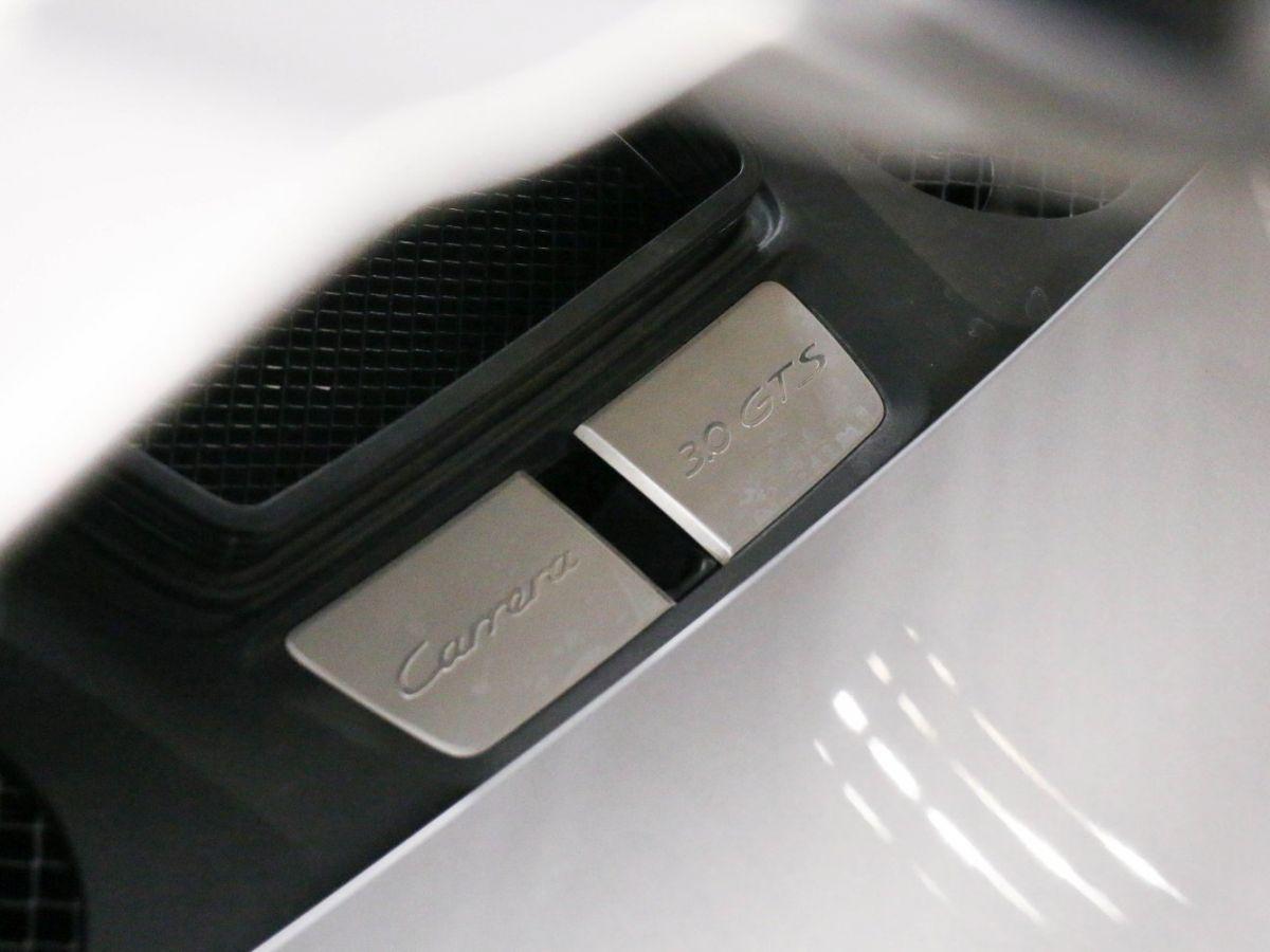 Porsche 911 PORSCHE 911 (991) (2) CABRIOLET 3.0 450 CARRERA GTS PDK Gris Métallisé - 16