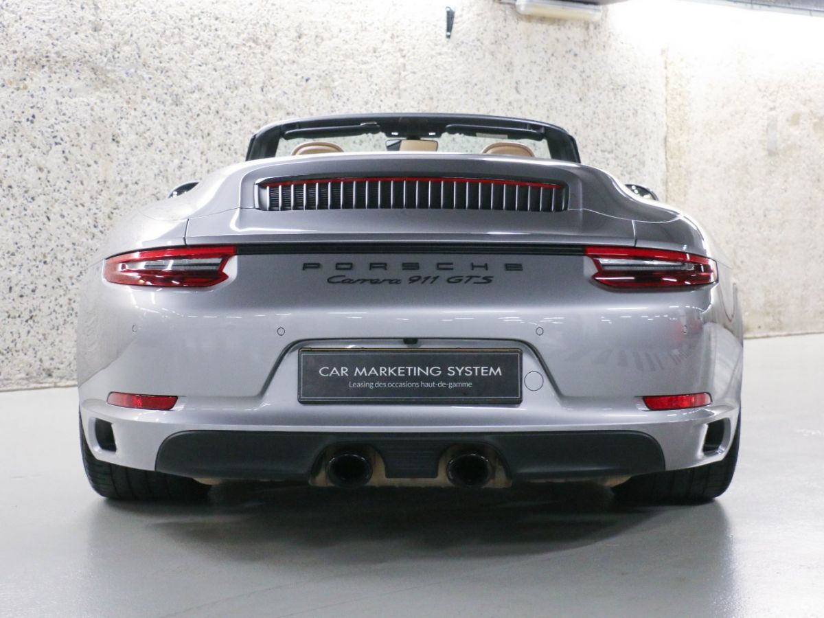 Porsche 911 PORSCHE 911 (991) (2) CABRIOLET 3.0 450 CARRERA GTS PDK Gris Métallisé - 17