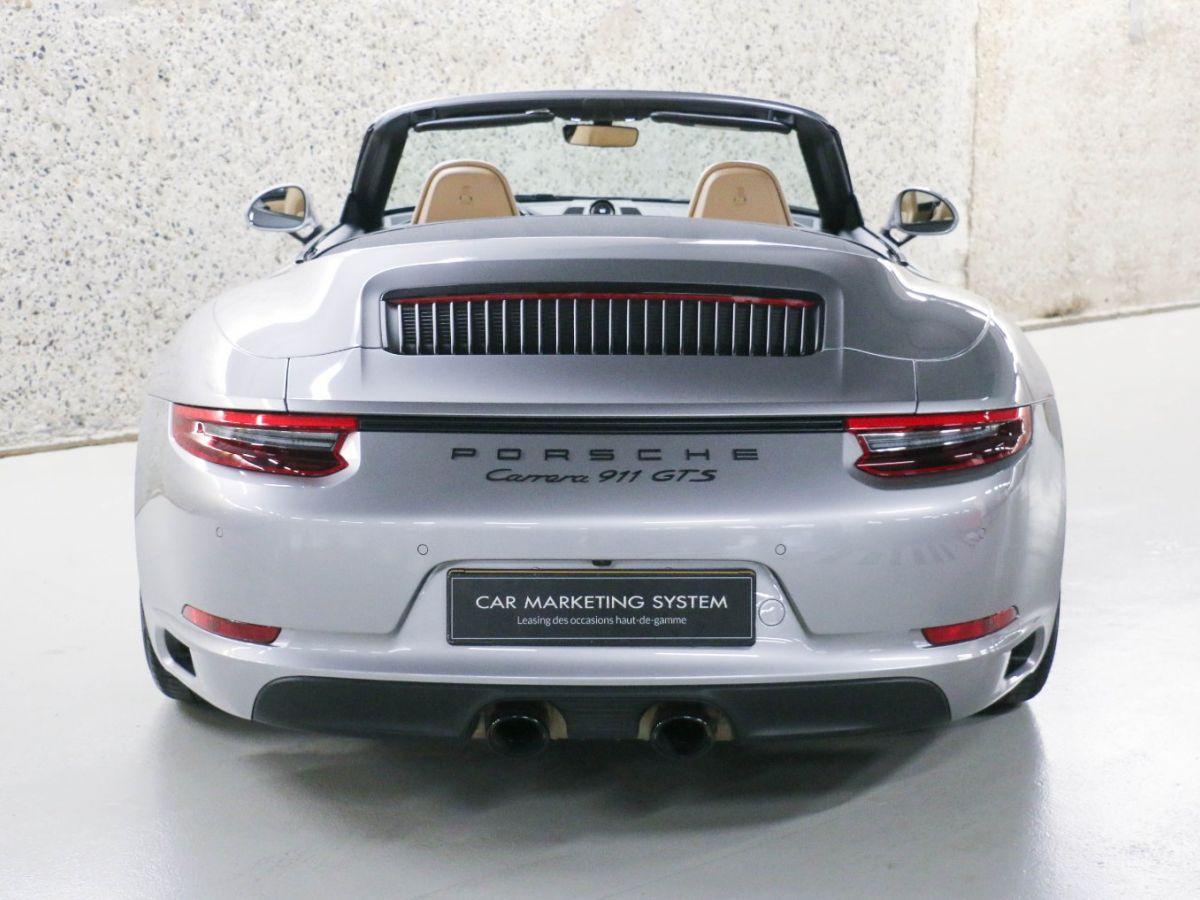 Porsche 911 PORSCHE 911 (991) (2) CABRIOLET 3.0 450 CARRERA GTS PDK Gris Métallisé - 18