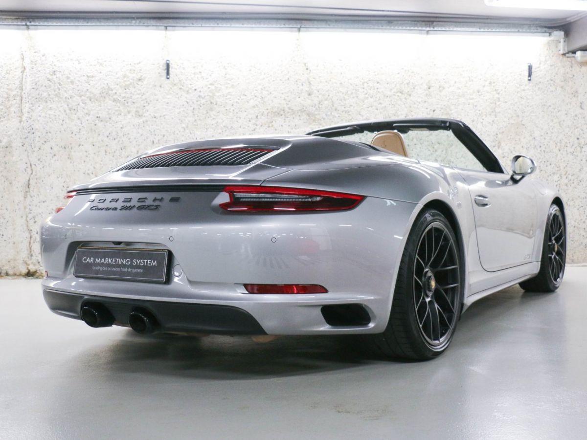 Porsche 911 PORSCHE 911 (991) (2) CABRIOLET 3.0 450 CARRERA GTS PDK Gris Métallisé - 20