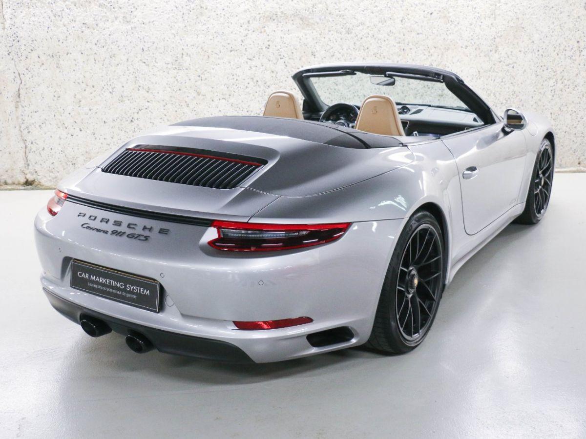 Porsche 911 PORSCHE 911 (991) (2) CABRIOLET 3.0 450 CARRERA GTS PDK Gris Métallisé - 21
