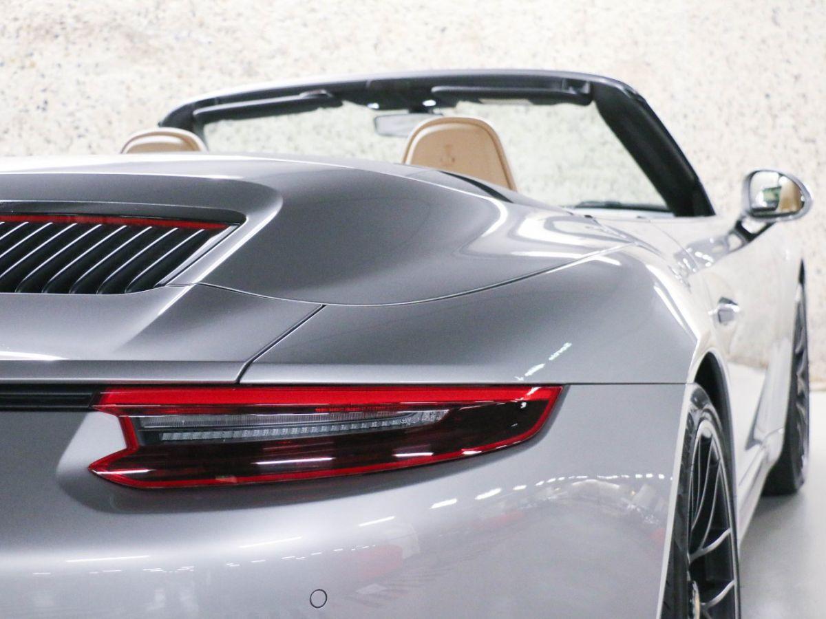 Porsche 911 PORSCHE 911 (991) (2) CABRIOLET 3.0 450 CARRERA GTS PDK Gris Métallisé - 22