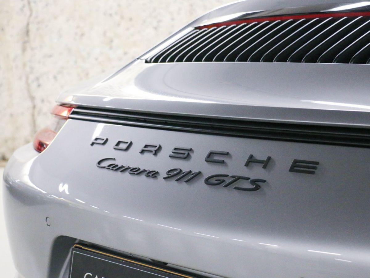 Porsche 911 PORSCHE 911 (991) (2) CABRIOLET 3.0 450 CARRERA GTS PDK Gris Métallisé - 24