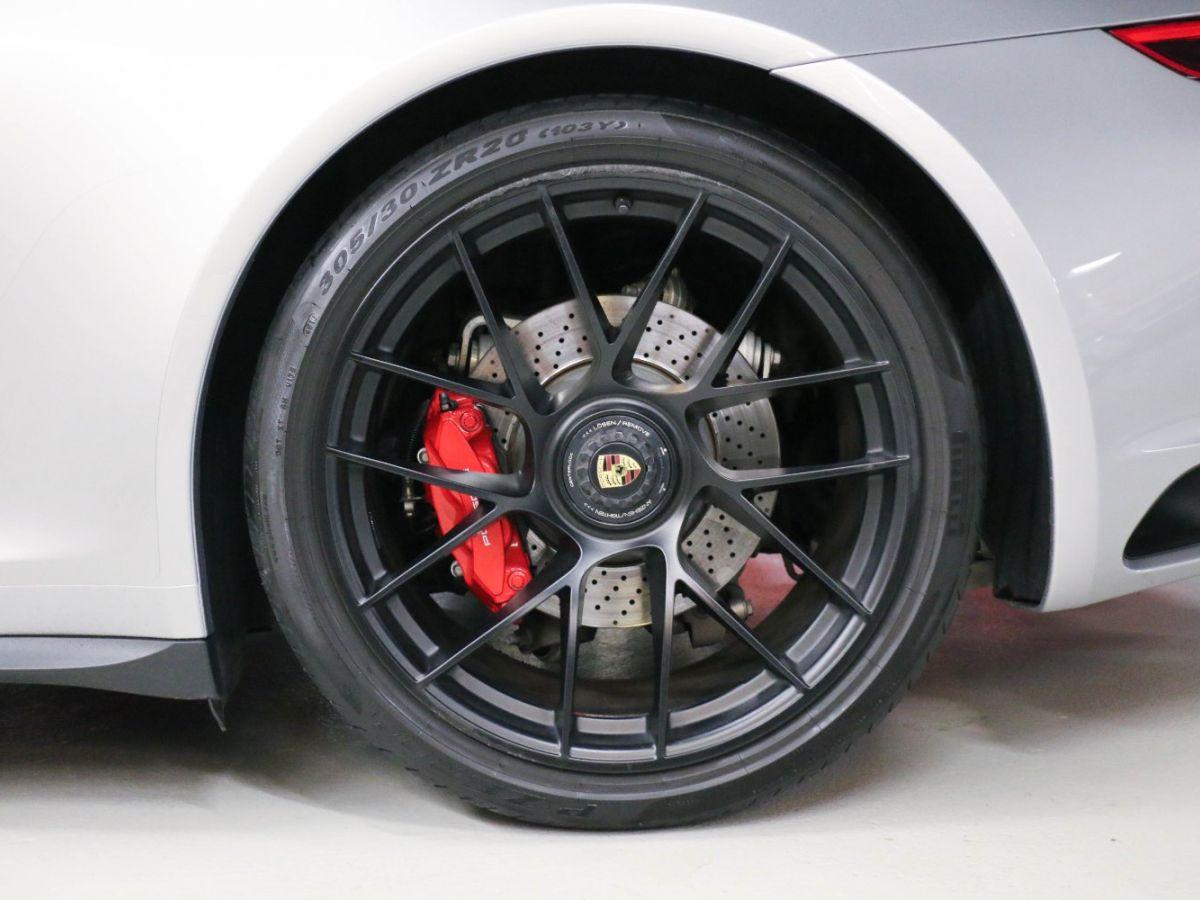 Porsche 911 PORSCHE 911 (991) (2) CABRIOLET 3.0 450 CARRERA GTS PDK Gris Métallisé - 26