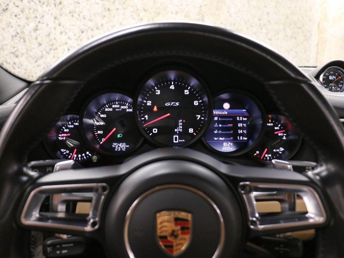 Porsche 911 PORSCHE 911 (991) (2) CABRIOLET 3.0 450 CARRERA GTS PDK Gris Métallisé - 39