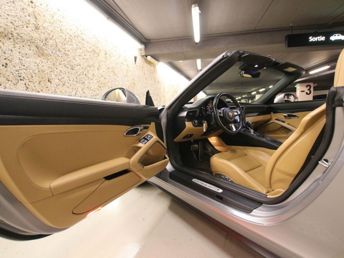 Porsche 911 PORSCHE 911 (991) (2) CABRIOLET 3.0 450 CARRERA GTS PDK Gris Métallisé - 52