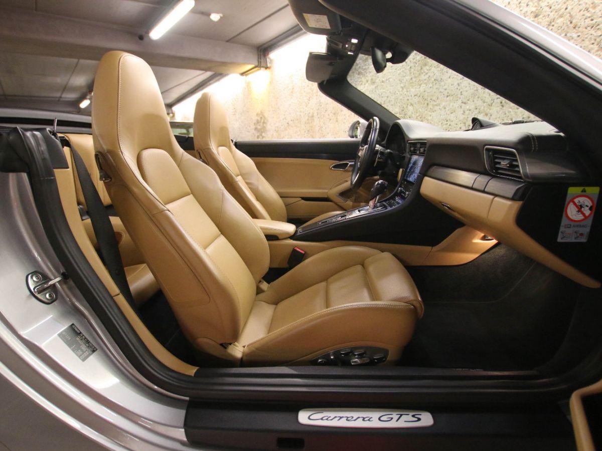 Porsche 911 PORSCHE 911 (991) (2) CABRIOLET 3.0 450 CARRERA GTS PDK Gris Métallisé - 56