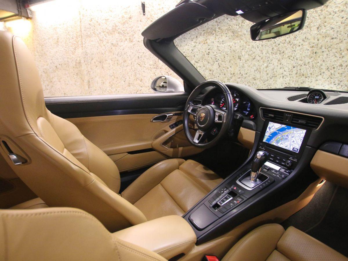 Porsche 911 PORSCHE 911 (991) (2) CABRIOLET 3.0 450 CARRERA GTS PDK Gris Métallisé - 57