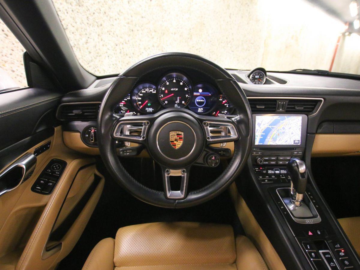 Porsche 911 PORSCHE 911 (991) (2) CABRIOLET 3.0 450 CARRERA GTS PDK Gris Métallisé - 60