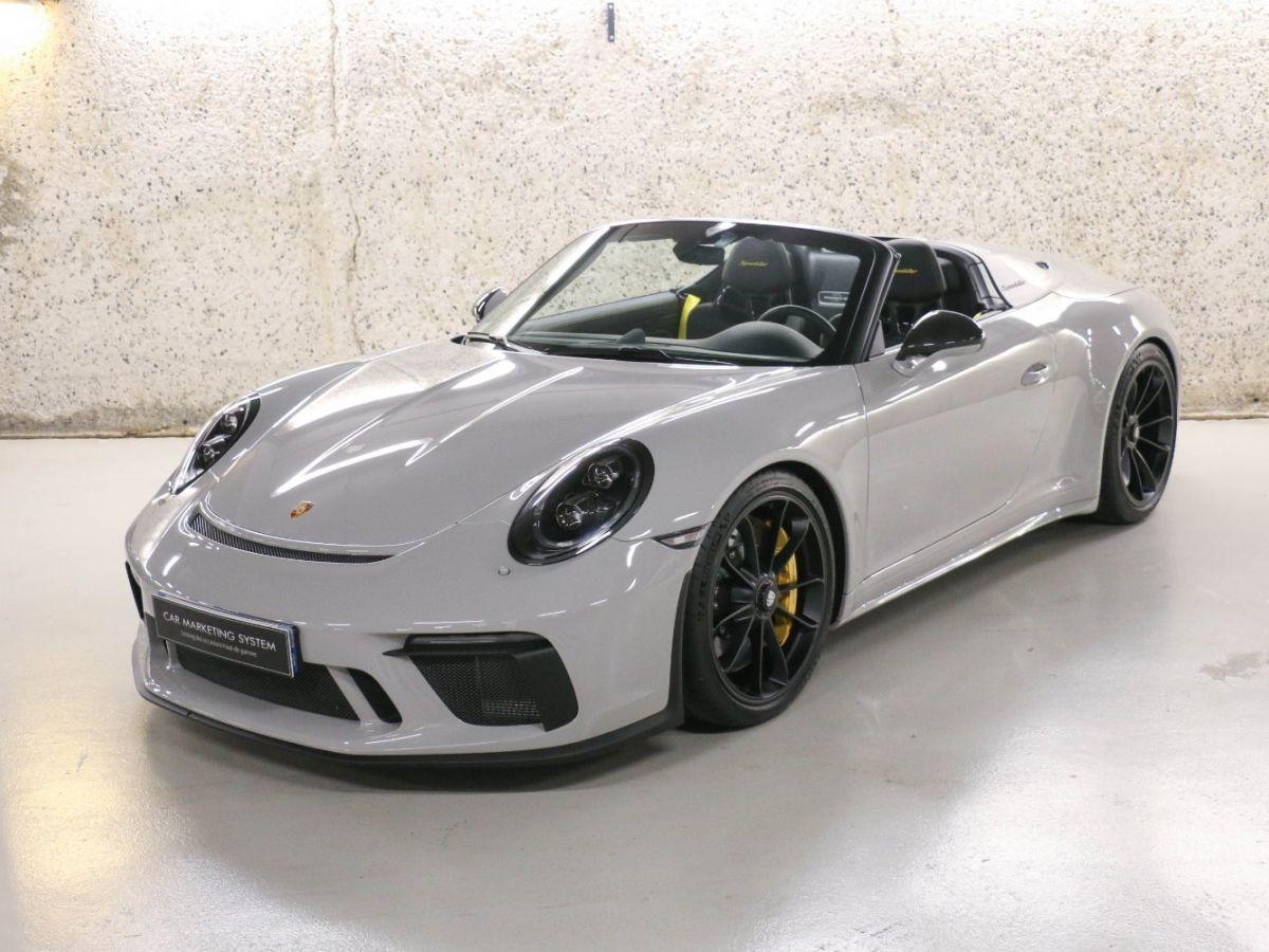 Porsche 911 PORSCHE 911 (991) 4.0 SPEEDSTER Gris Clair - 1
