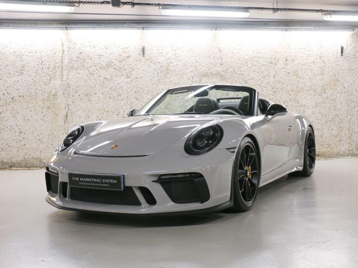 Porsche 911 PORSCHE 911 (991) 4.0 SPEEDSTER Gris Clair - 2