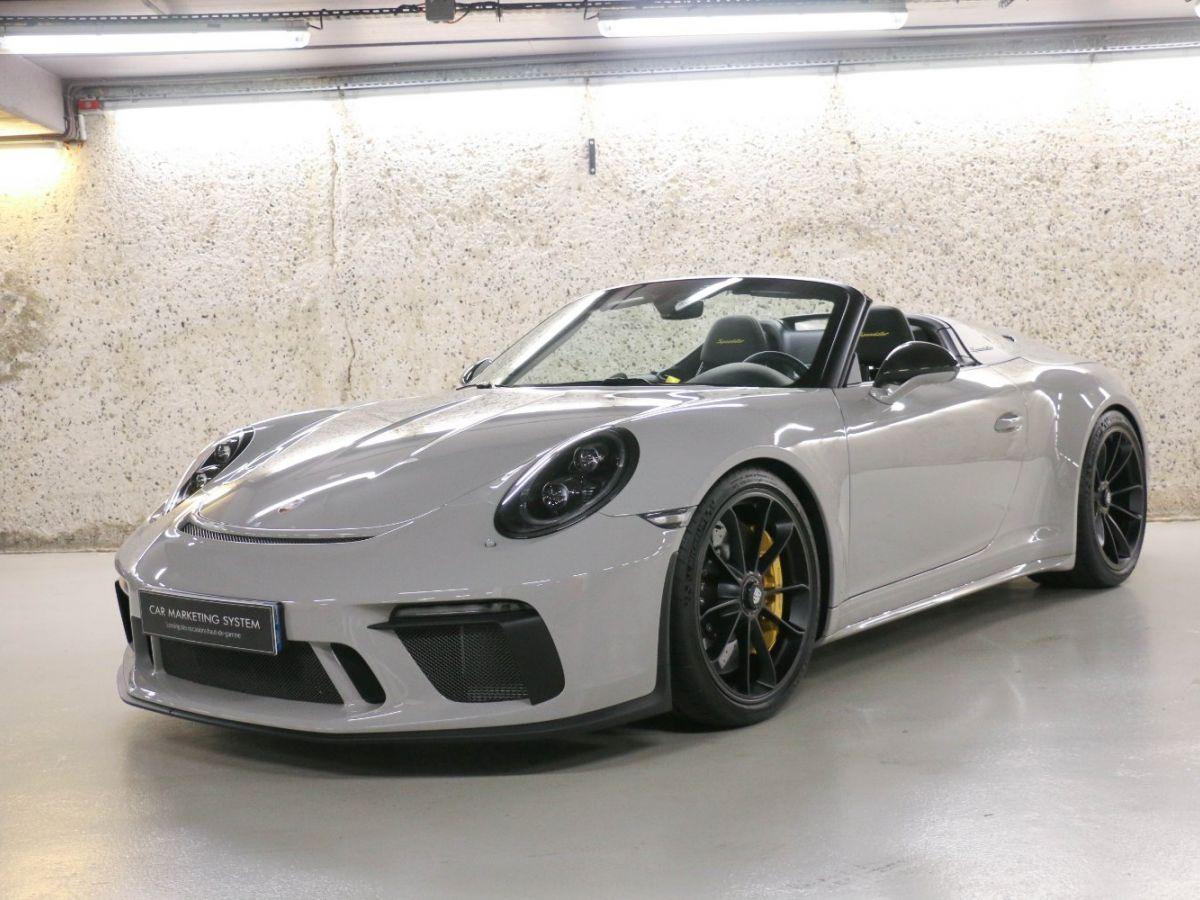 Porsche 911 PORSCHE 911 (991) 4.0 SPEEDSTER Gris Clair - 3