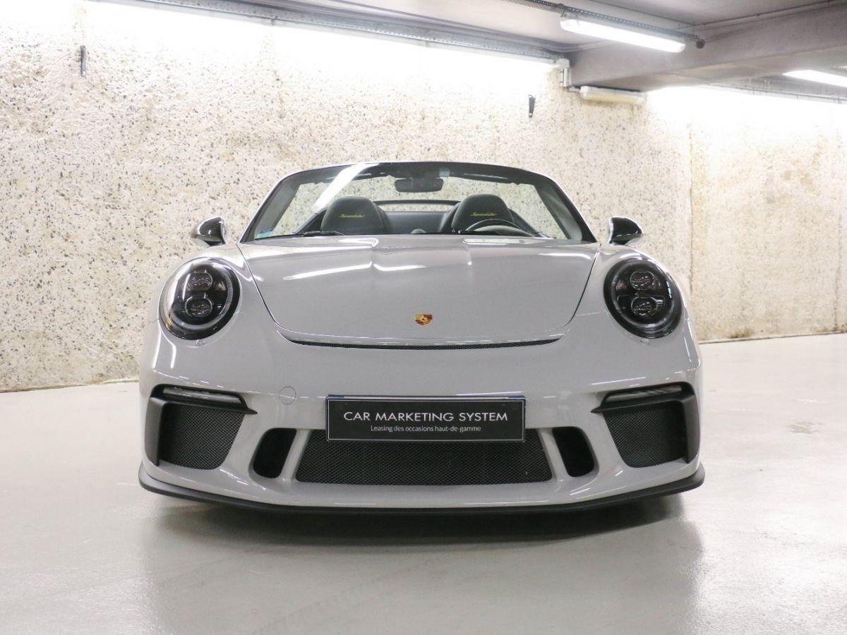Porsche 911 PORSCHE 911 (991) 4.0 SPEEDSTER Gris Clair - 4