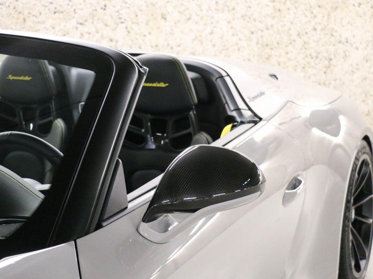 Porsche 911 PORSCHE 911 (991) 4.0 SPEEDSTER Gris Clair - 8