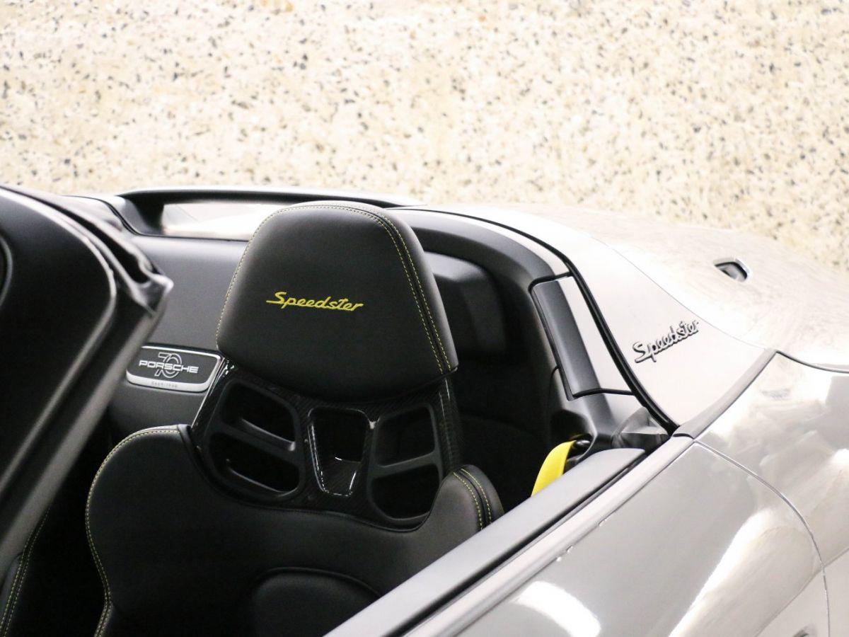 Porsche 911 PORSCHE 911 (991) 4.0 SPEEDSTER Gris Clair - 9