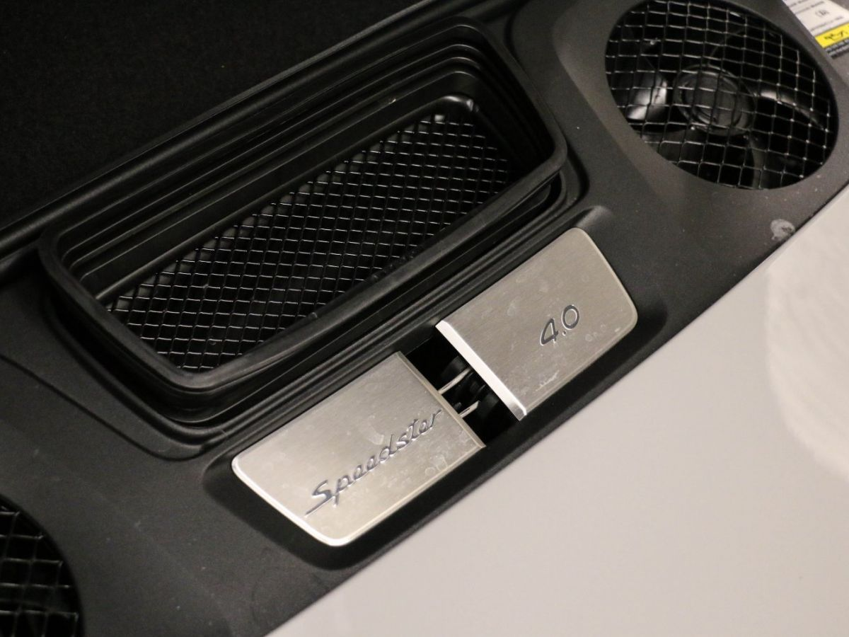 Porsche 911 PORSCHE 911 (991) 4.0 SPEEDSTER Gris Clair - 12