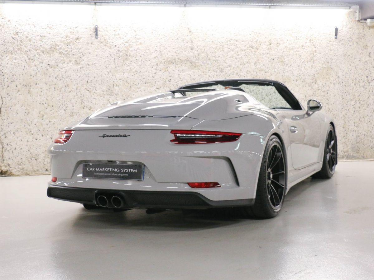 Porsche 911 PORSCHE 911 (991) 4.0 SPEEDSTER Gris Clair - 16