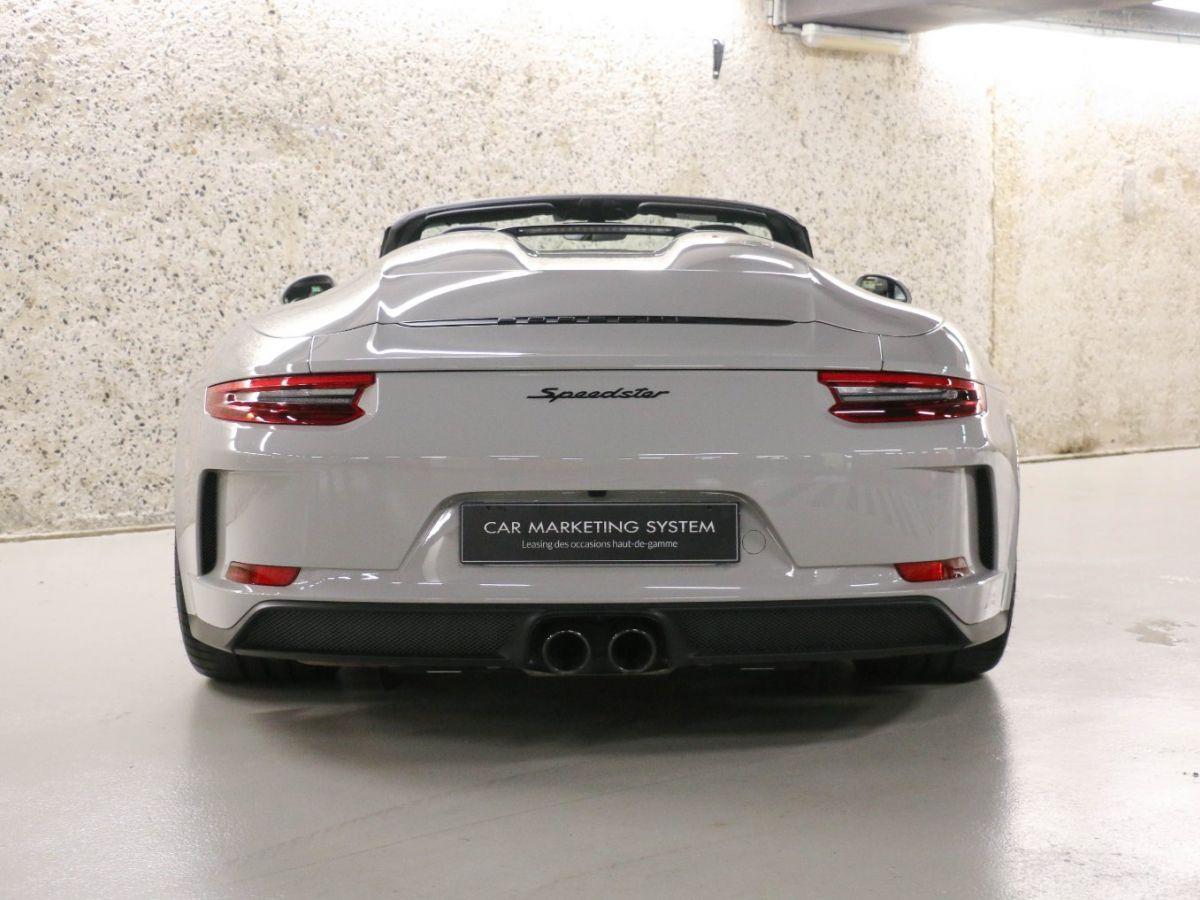 Porsche 911 PORSCHE 911 (991) 4.0 SPEEDSTER Gris Clair - 17