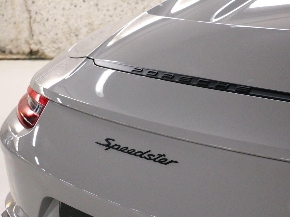 Porsche 911 PORSCHE 911 (991) 4.0 SPEEDSTER Gris Clair - 20