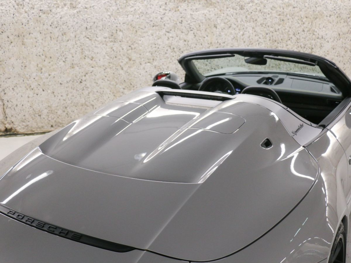 Porsche 911 PORSCHE 911 (991) 4.0 SPEEDSTER Gris Clair - 21
