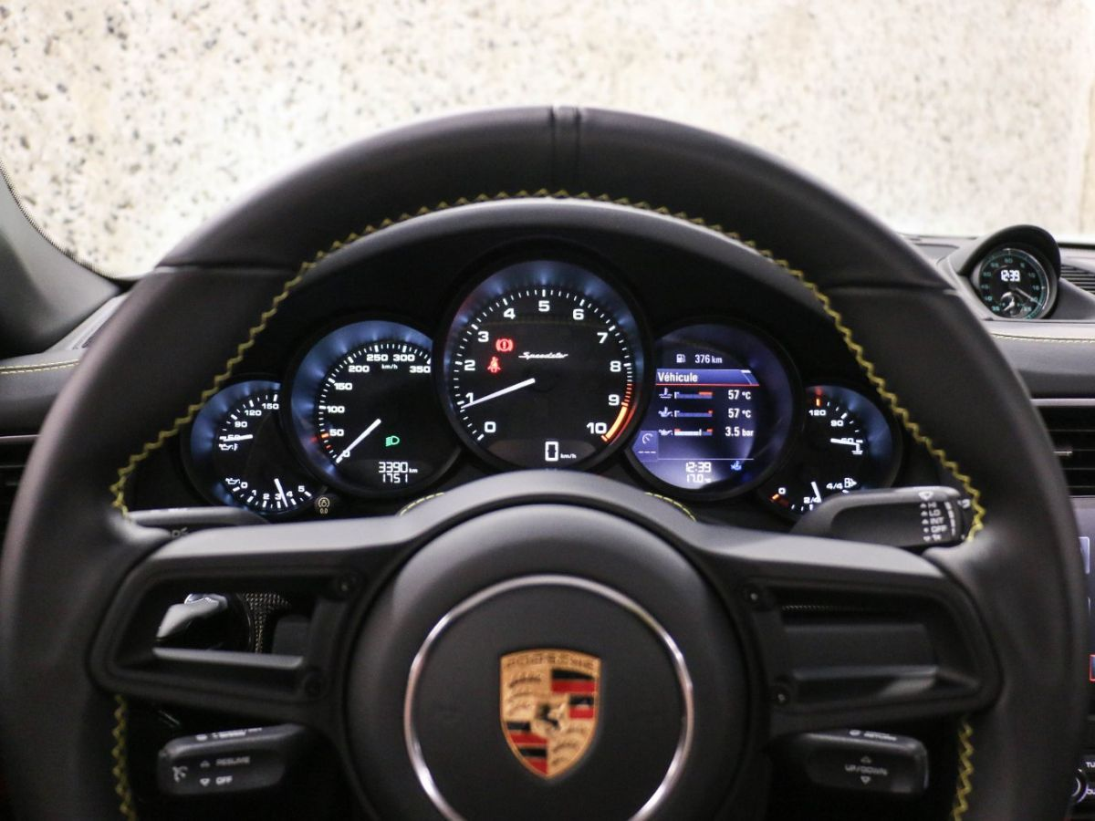 Porsche 911 PORSCHE 911 (991) 4.0 SPEEDSTER Gris Clair - 35