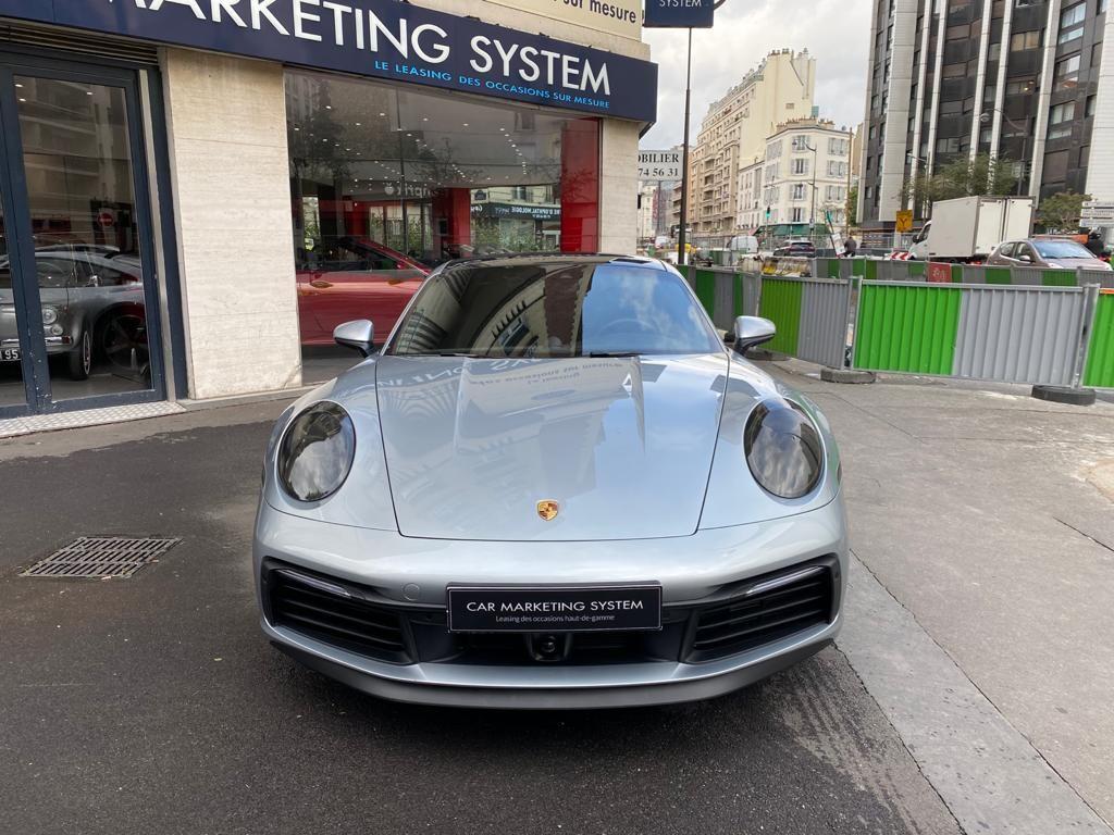 Porsche 911 PORSCHE 911 (992) COUPE 3.0 450 CARRERA S PDK8 Gris Métallisé - 2