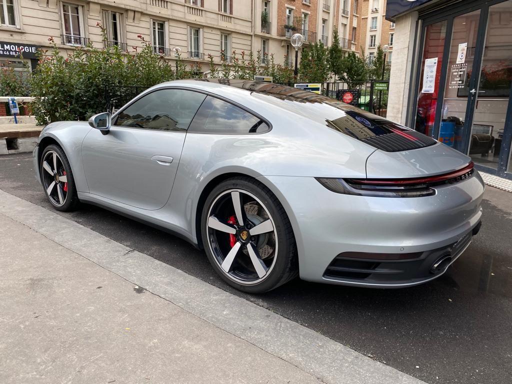 Porsche 911 PORSCHE 911 (992) COUPE 3.0 450 CARRERA S PDK8 Gris Métallisé - 8