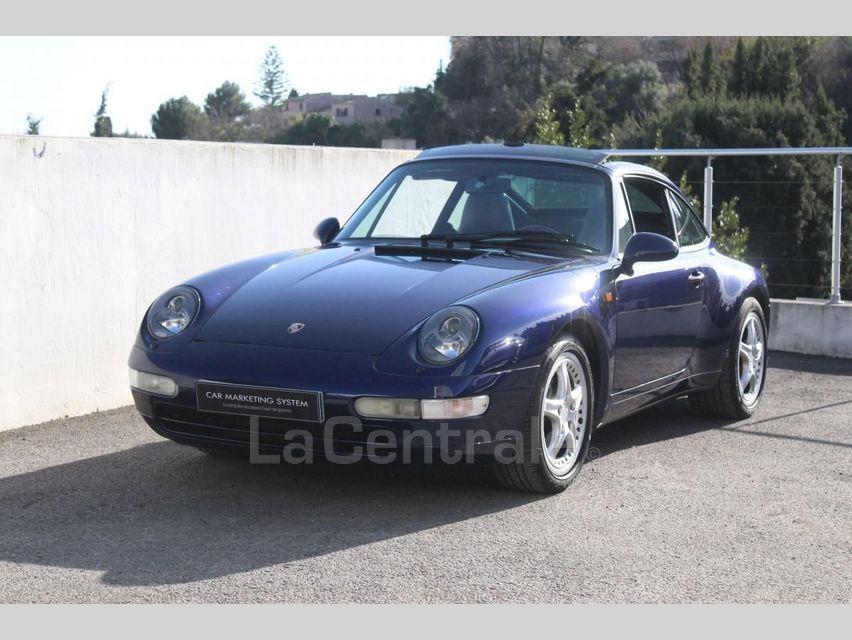 Porsche 911 TYPE 993 (993) 3.6 TARGA Bleu Foncé - 1