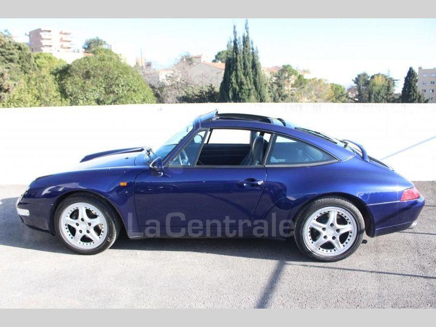 Porsche 911 TYPE 993 (993) 3.6 TARGA Bleu Foncé - 3