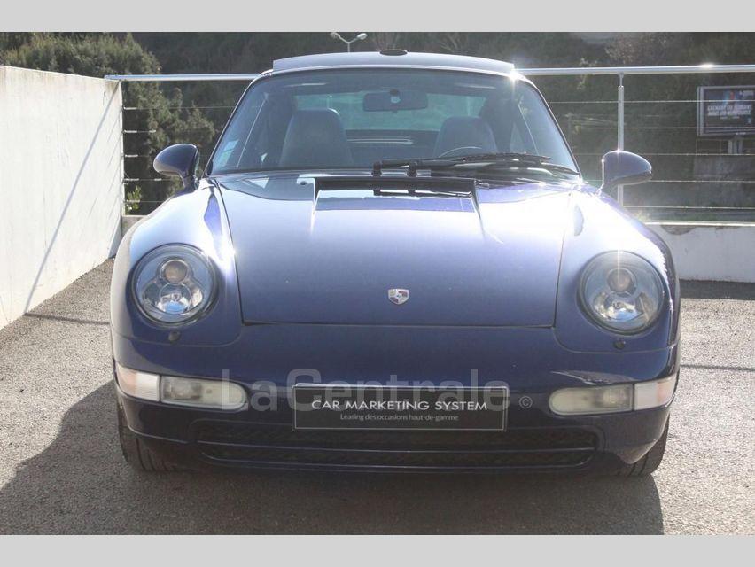 Porsche 911 TYPE 993 (993) 3.6 TARGA Bleu Foncé - 4