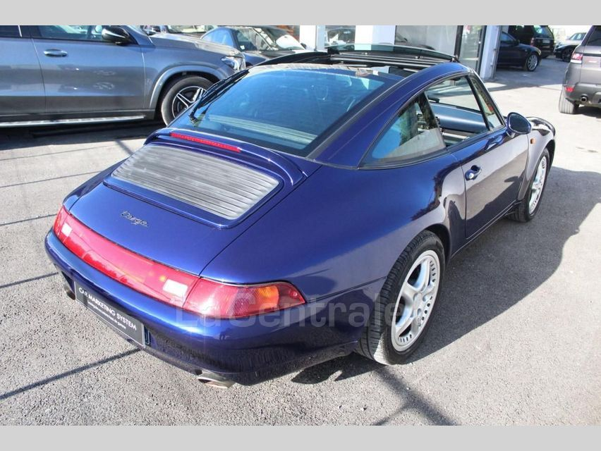 Porsche 911 TYPE 993 (993) 3.6 TARGA Bleu Foncé - 5