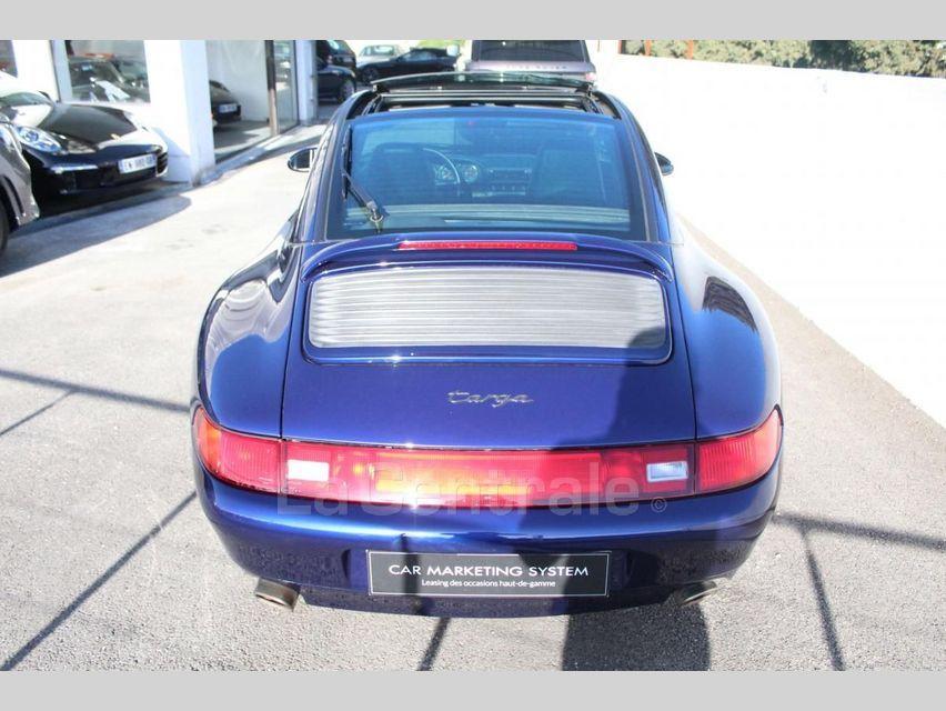 Porsche 911 TYPE 993 (993) 3.6 TARGA Bleu Foncé - 6