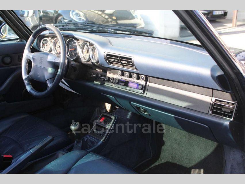 Porsche 911 TYPE 993 (993) 3.6 TARGA Bleu Foncé - 8