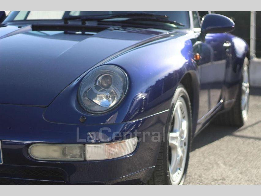 Porsche 911 TYPE 993 (993) 3.6 TARGA Bleu Foncé - 13