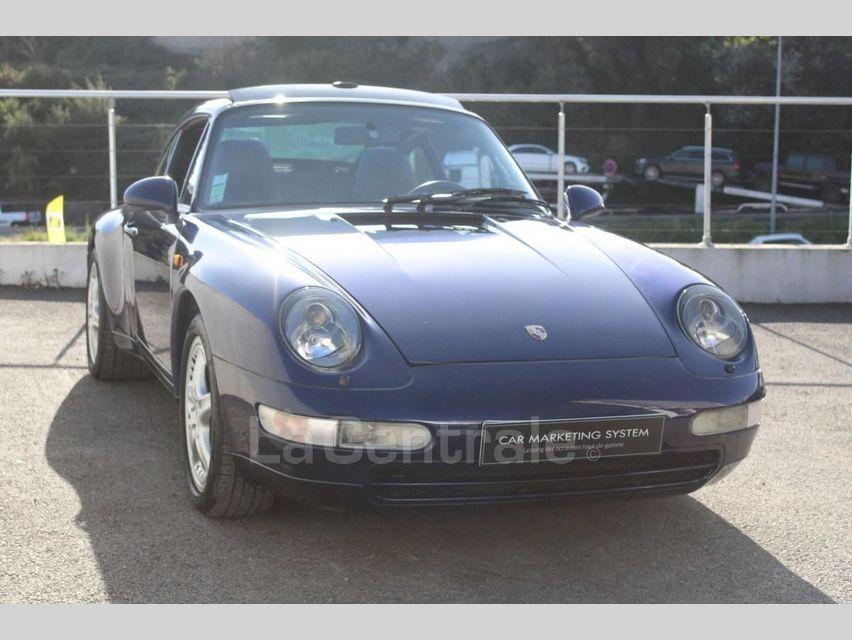 Porsche 911 TYPE 993 (993) 3.6 TARGA Bleu Foncé - 14