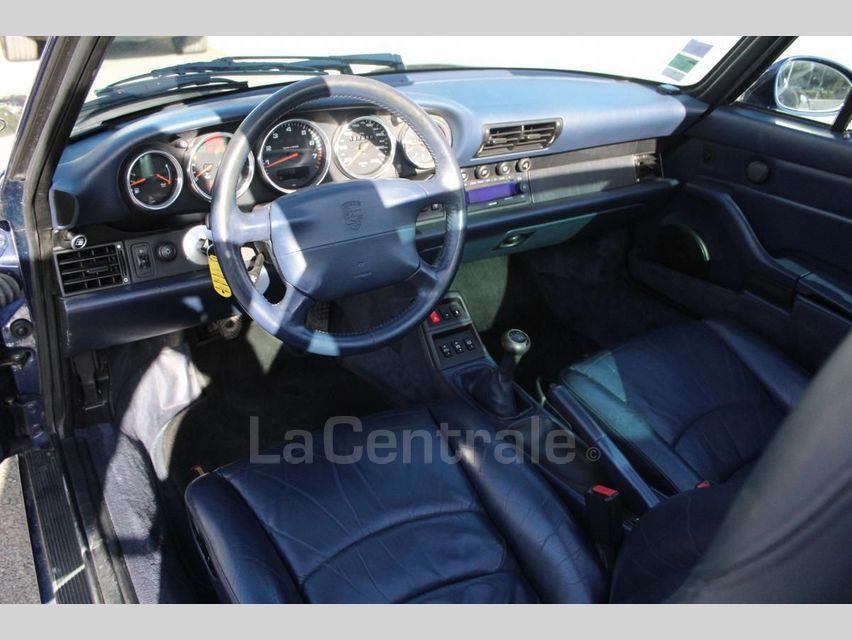 Porsche 911 TYPE 993 (993) 3.6 TARGA Bleu Foncé - 22