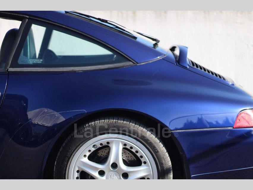 Porsche 911 TYPE 993 (993) 3.6 TARGA Bleu Foncé - 23